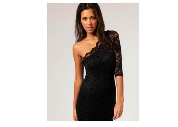 dar kesim elbise modelleri 9