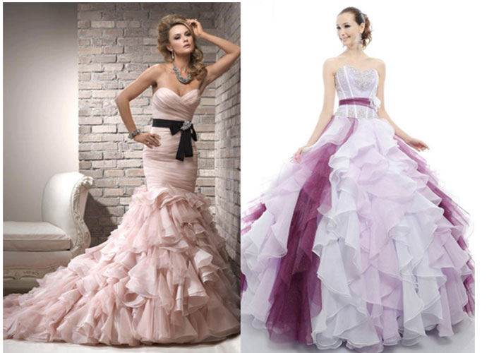renkli nişan söz kıyafetleri 12