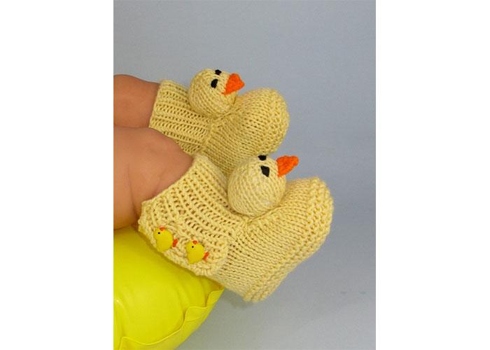 örgü bebek patik modelleri 3