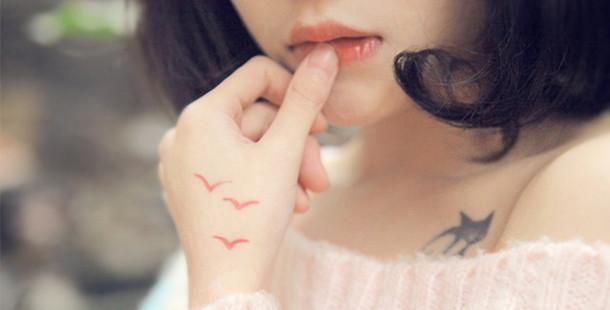 zarif ve şık küçük dövme örnekleri