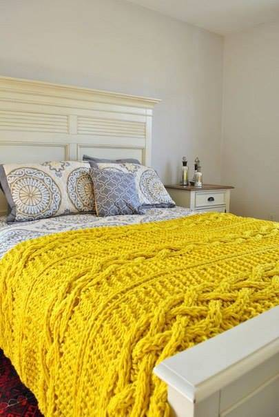 tığ işi yatak örtüsü modelleri 14