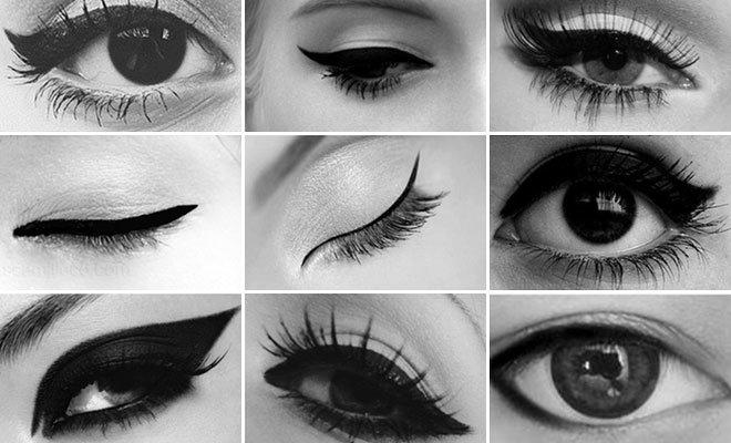 eyeliner sürme teknikleri resimli