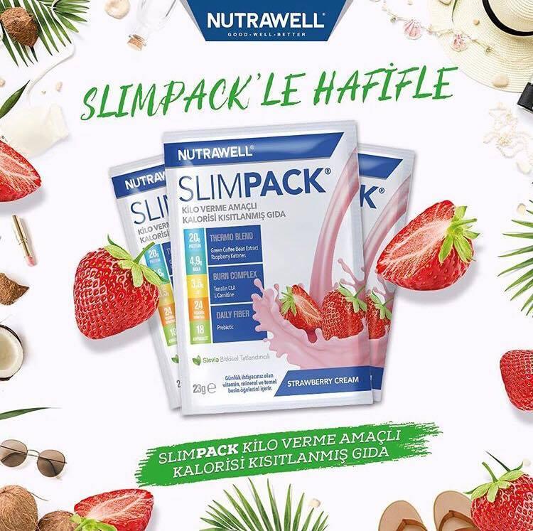Nutrawell Slimpack nedir nasıl kullanılır